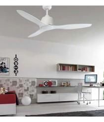 Ventilador de techo perfecto tanto para invierno como verano con regulador de pared - Child - Massmi