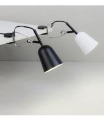 Lámpara con pinza de enganche de metal y ABS en 4 acabados – Studio – Faro
