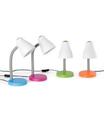 Lámpara de mesa de ABS en 4 acabados – Bob – Faro