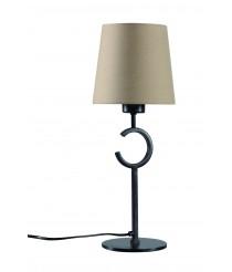 Lámpara de mesa clásica de metal marrón óxido Ø 40 cm - Argi - Mantra