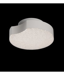 Aplique de techo LED de ABS y metal acabado blanco 3000K - Lunas - Mantra