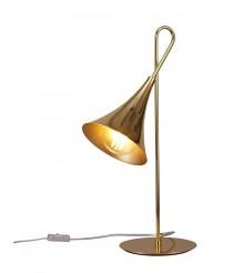 Lámpara de mesa de hierro acabado dorado - Jazz - Mantra