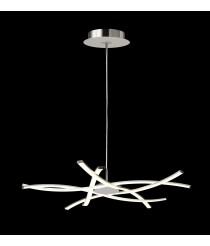 Lámpara colgante LED de aluminio 3000K - Aire Led - Mantra