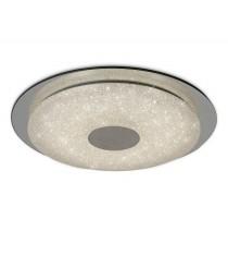 Plafón de techo LED de metal con control remoto Ø 45 cm 2700-6500K - Virgin - Mantra