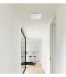 Plafón de techo gris LED 3000K en 3 tamaños - Iris - Faro