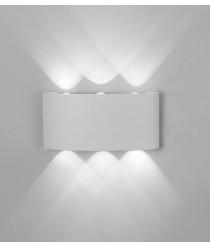 Aplique de pared de exterior en 2 colores LED 3000K IP54 – Arcs – Mantra