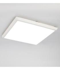 Plafón de techo de exterior cuadrado en 2 tamaños LED 4000K – Aneto – Mantra