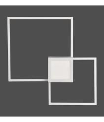 Aplique de pared LED 3000K regulable blanco mate – Mural – Mantra