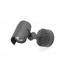 Lámpara proyector orientable color gris oscuro – Foc-1 – Faro