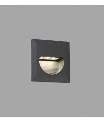 Lámpara empotrable gris oscuro – Mini Carter – Faro