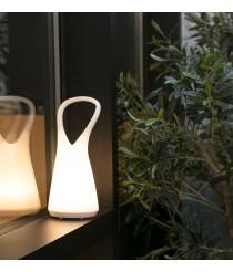 Lámpara portátil blanca Touch System regulable – Boo – Faro