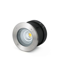 Lámpara LED empotrable inoxidable apertura 24° - Suria-12 – Faro