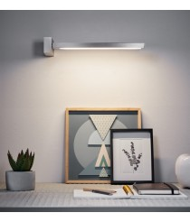 Aplique de pared LED con pantalla movilble en dos colores – Clau – Pujol Iluminación