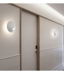 Aplique de pared LED de aluminio en 2 colores regulable Triac - Nón Lá - Bover