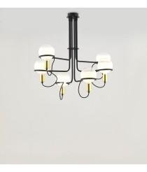 Lámpara colgante con 6 luces – Ghost – Aromas