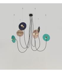 Lámpara colgante con 6 luces – Fest – Aromas