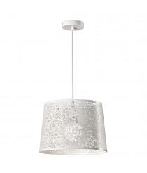 Lámpara colgante de metal en blanco Ø 35 cm - Inari - ACB Iluminación