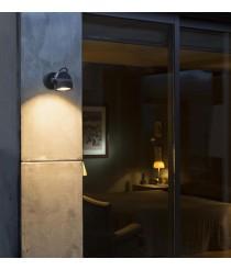 Lámpara LED proyector gris oscuro orientable 90º – Alfa – Faro