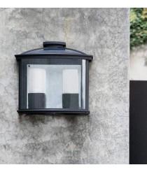 Lámpara aplique doble formas clásicas color negro – Ceres-2 – Faro