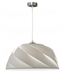 Lámpara colgante con pantalla de tiras chins dos acabados y medidas – Ginger – IDP Lampshades