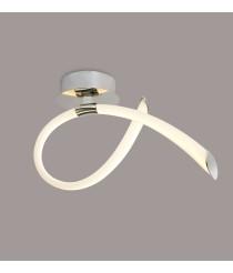 Aplique LED 18W acabado cromo y acrílico – Armonia – Mantra Iluminación