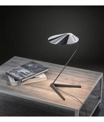 Lámpara de mesa LED en cromo con interruptor proxy dimmer - Nón Lá - Bover