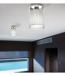 Plafón de techo de cristal en 3 acabados - Oliver - Bover