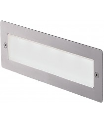 Lámpara de pared empotrable de aluminio IP65 LED 3000K - Das - Dopo - Novolux
