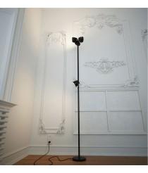 Lámpara de pie LED con luz de lectura – Trio – Pujol Iluminación