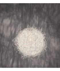 Lámpara colgante dos tamaños color blanco – Pili – Arturo Álvarez