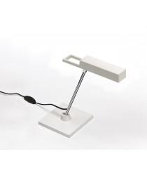 Lámpara de mesa LED en cromo blanco - Spock Mini - Bover