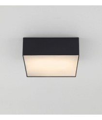 Plafón de techo negro difusor blanco – Tamb Square – Aromas
