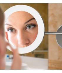 Aplique de pared LED de metal para baño con espejo IP 44 - Boan - ACB Iluminación