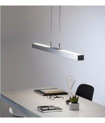 Colgante bajo consumo disponible en dos acabados y fuentes de luz – Apolo – Pujol Iluminación