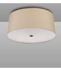 Plafón de techo con 3 luces de metal marrón óxido - Argi - Mantra