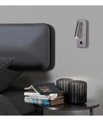 Aplique de pared LED 3000K en 2 acabados - Aron - ACB Iluminación
