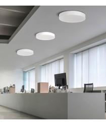Aplique de techo LED en metal opal Ø 40 cm - Aten - ACB Iluminación