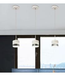Lámpara colgante LED de aluminio 3200K Ø 9 cm - Austral - ACB Iluminación