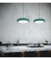 Lámpara colgante LED de acero disponible en diferentes colores – Boina – Pujol Iluminación