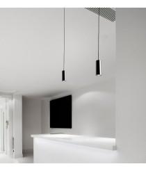 Lámpara colgante LED moderna Ø 10 cm - Basic - Pujol Iluminación