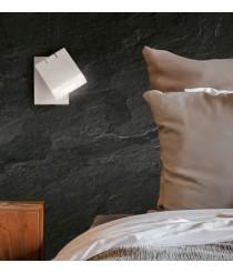 Aplique de pared LED de metal orientable 3200K - Cora - ACB Iluminación