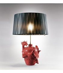 Lámpara de mesa de porcelana – Dragón y Ave Fénix – Lladró