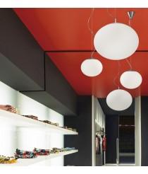 Lámpara colgante formato bola en 2 tamaños y colores - Elipse - Bover
