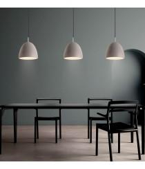 Lámpara colgante de cemento gris Ø 30 cm - Enon - ACB Iluminación