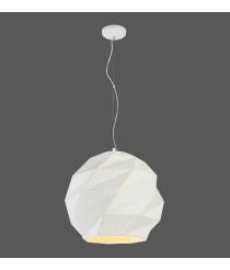 Lámpara colgante de metal en 2 colores y tamaños - Esfera - ACB Iluminación