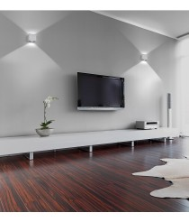 Aplique de pared moderno LED 3000K - Brick - Exo - Novolux
