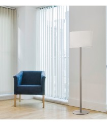 Steel floor lamp without screen - Oval - Exo - Novolux