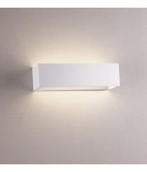 Moderno aplique de pared de aluminio cepillado LED 3000K - Rett - Exo - Novolux