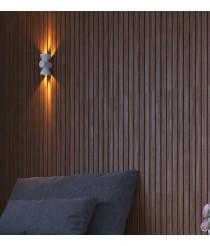 Aplique LED iluminación directa e indirecta varios colores – Key – Pujol Iluminación