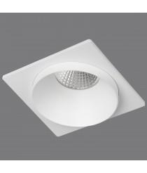 Empotrable de techo de aluminio blanco 1 luz - Kuba - ACB Iluminación